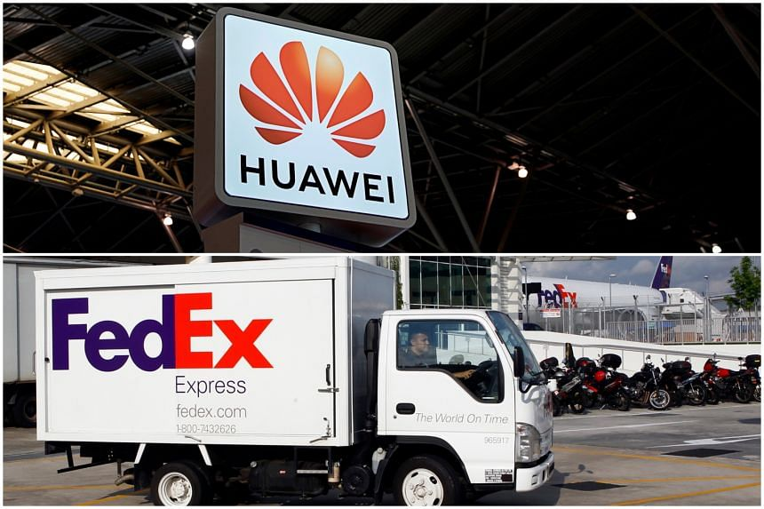 Huawei reviews relationship with FedEx after packages 'diverted'