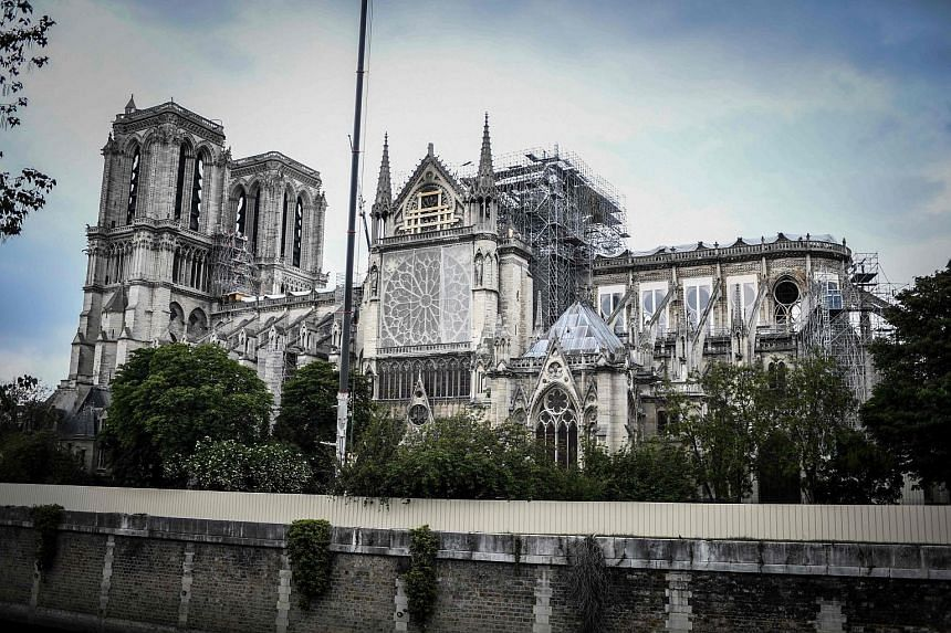 The Bill, calling for swift reconstruction of the Notre Dame Cathedral, was approved by French lawmakers earlier in the month.