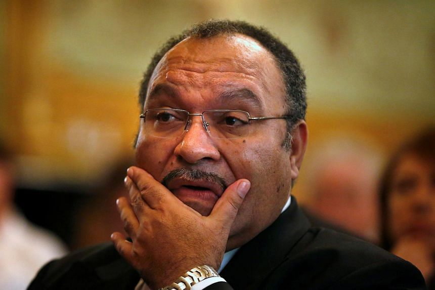 Papua New Guinea Prime Minister Peter O'Neill's government narrowly avoided a vote of no confidence after the signing by adjourning parliament for almost a month.