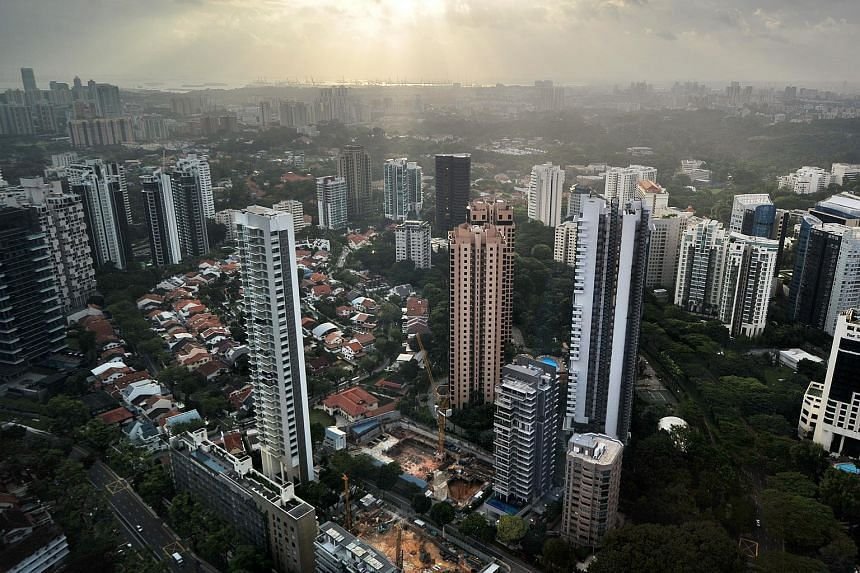 The rise was driven by a 1.4 per cent increase in prices for apartments in the central region, excluding small units.