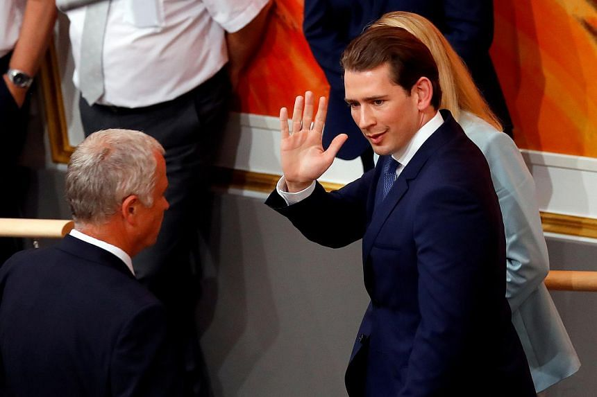 Austrian conservative Chancellor Sebastian Kurz has had his government voted out of office following a video sting that blew up his coalition with the far right.