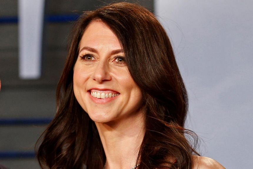 Ms MacKenzie Bezos became one of the richest people in the world following her split from Amazon founder Jeff Bezos, and has an estimated personal fortune of US$36.6 billion (S$50.4 billion).