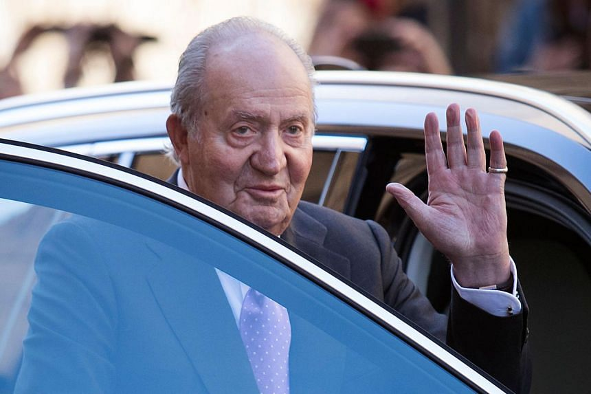 In a letter to his son, King Felipe VI, Spain's former king Juan Carlos (pictured) says that from June 2, he will no longer be available for representative duties.