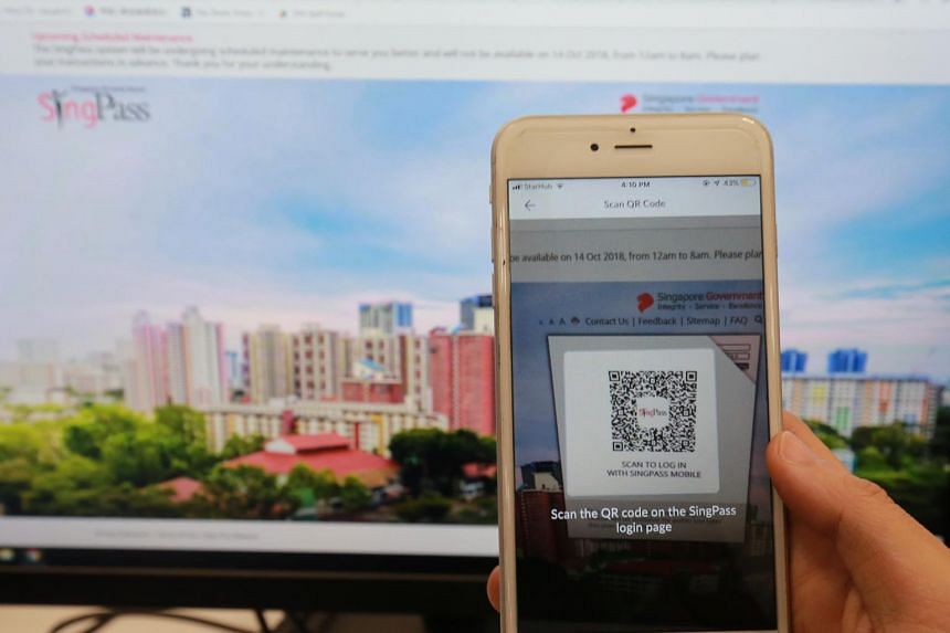 Singapore residents can soon use their SingPass mobile to scan a QR code instead of keying in their details when registering to visit a patient in hospital or making purchases at roadshows.