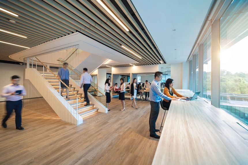 Over the past year, the office spaces at Keppel Bay Tower have been renovated and equipped with technologies to improve energy and resource efficiency.