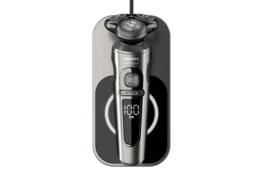The Philips Shaver S9000 Prestige is much more convenient and actually provides a cleaner shave than a razor blade, which might miss some strands of facial hair.