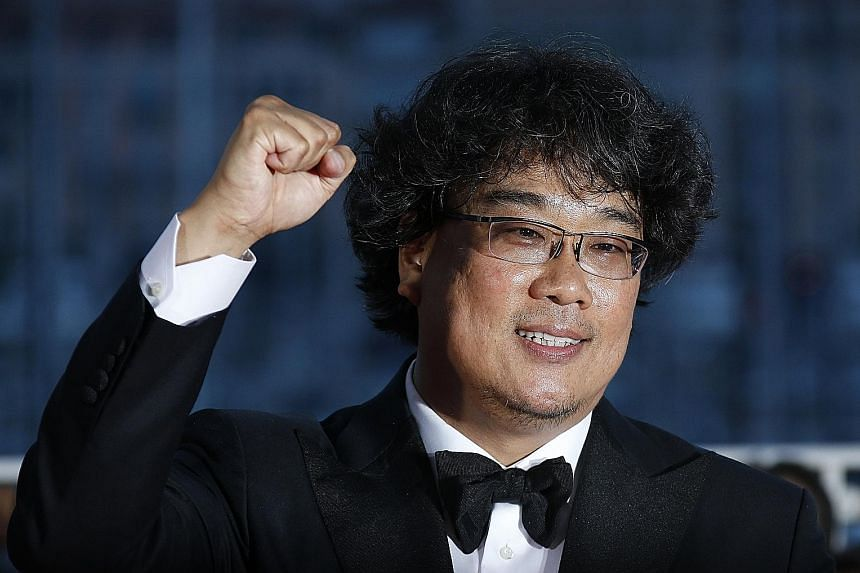 Film-maker Bong Joon-ho (left) is known for critical and commercial hits such as sci-fi action adventure Okja (right) and monster blockbuster The Host (below right).