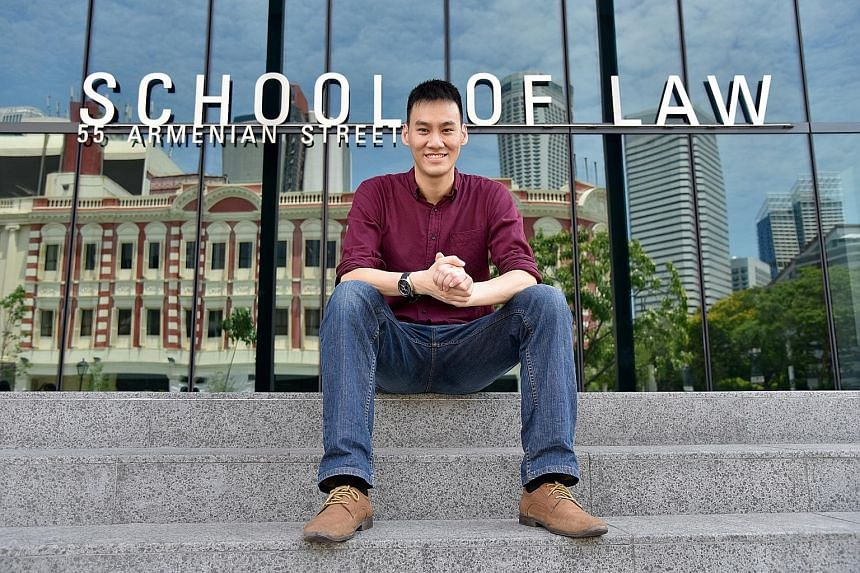 From being in the Normal (Technical) stream, Mr Jason Chua went on to take his O levels as a private candidate, went through the three-year A-level programme at Millennia Institute and scored 3 As in the A-level exams. He graduated with a law degree