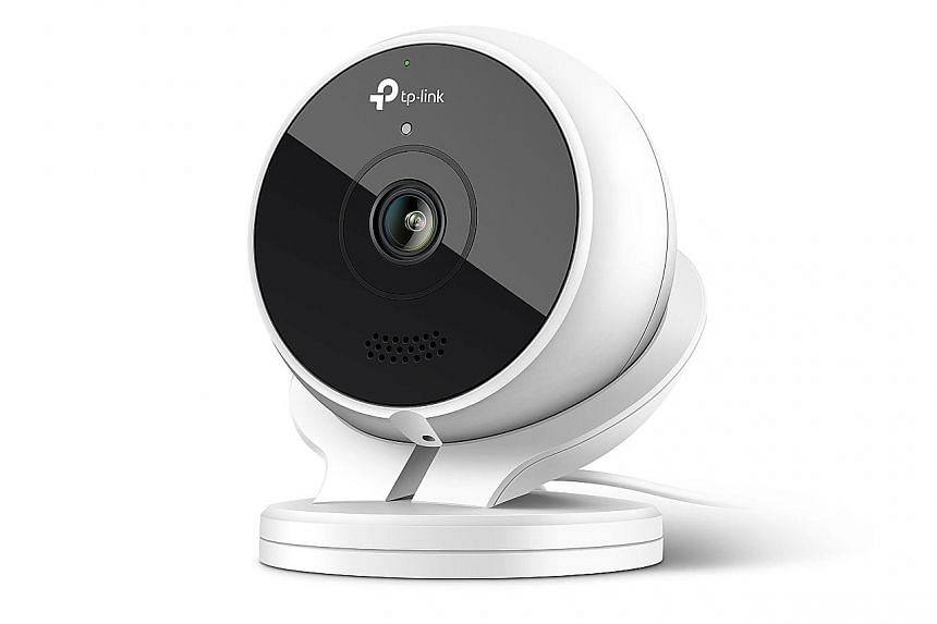 TP-Link's Kasa Cam Outdoor camera has to be tethered to a power outlet via a 3m-long power cable.