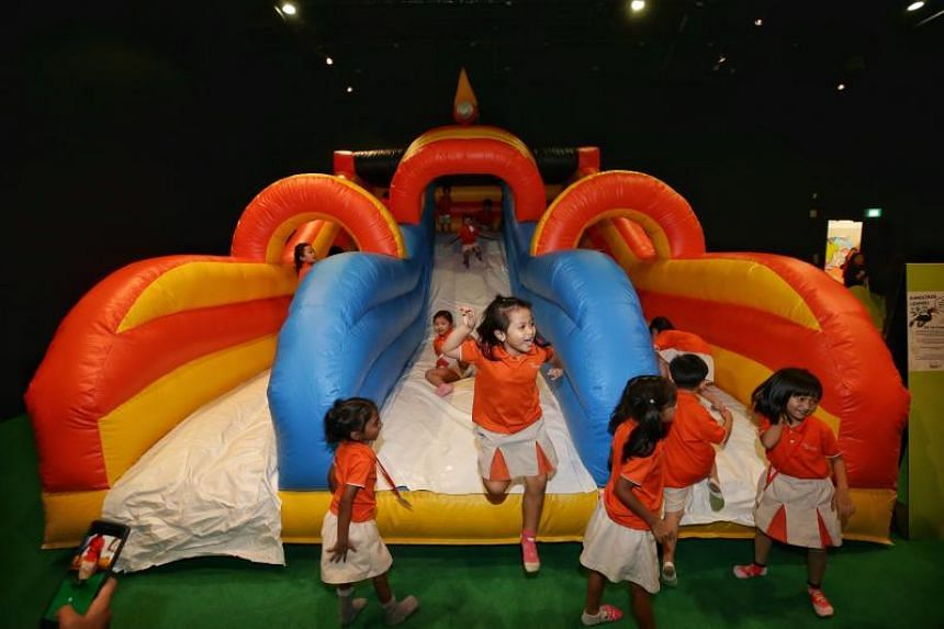 National Museum of Singapore's month-long Children's Special event also features four installations that young ones can have fun engaging with.