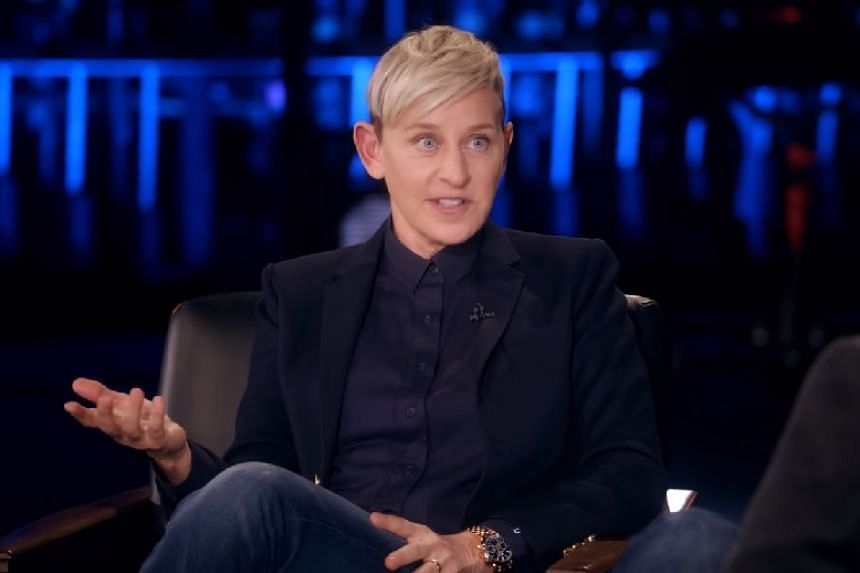 DeGeneres was speaking on season two of My Next Guest Needs No Introduction With David Letterman.