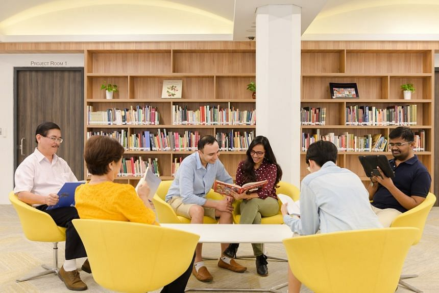 A more conducive research environment for researchers and students at the Archives Reading Room.