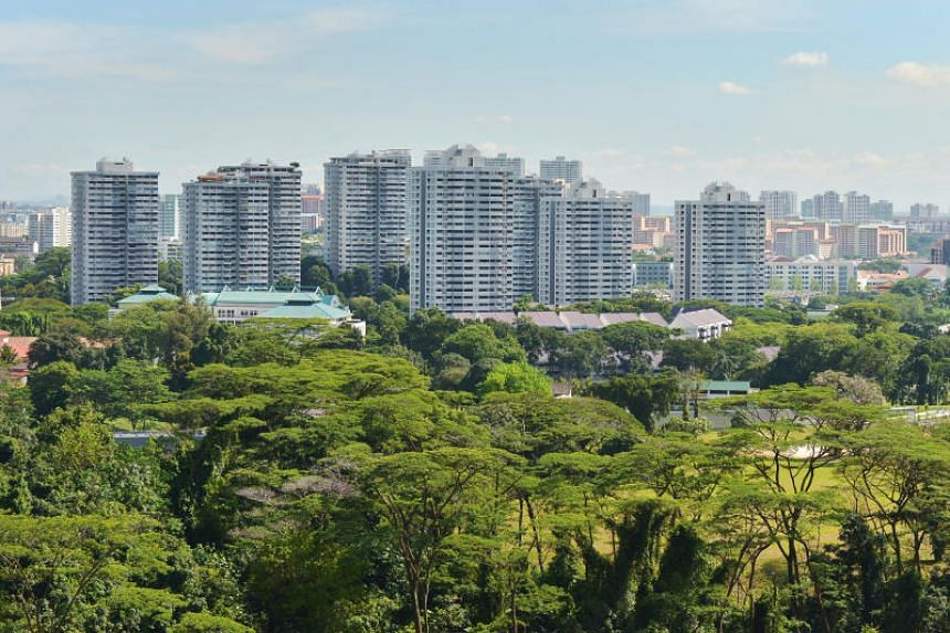 The development in Braddell Hill is the largest of the 18 Housing and Urban Development Company estates in Singapore.