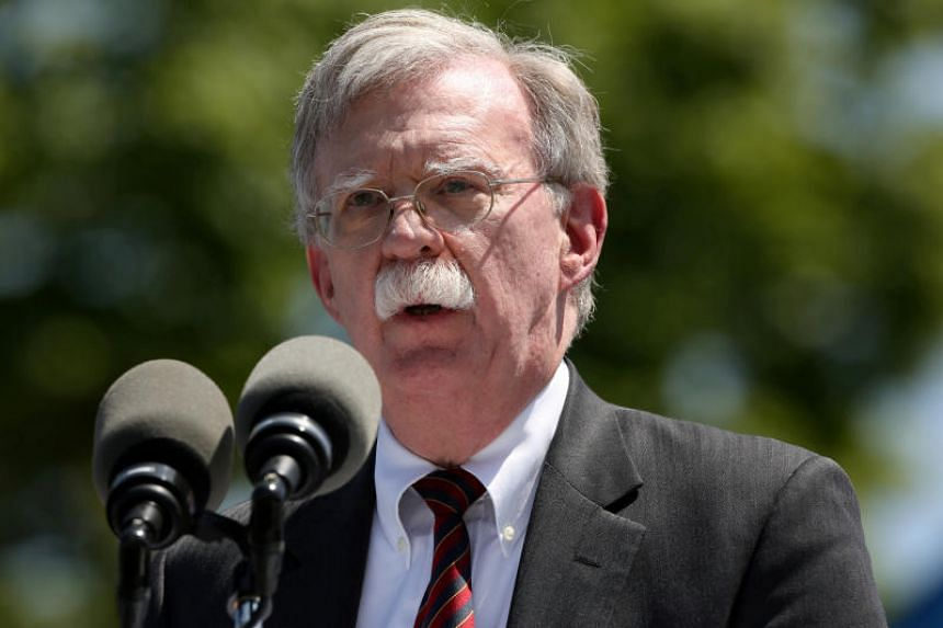US National Security Adviser John Bolton told reporters in Abu Dhabi that the United States is trying to be prudent in responding to the activities of Iran and its proxies in the region.