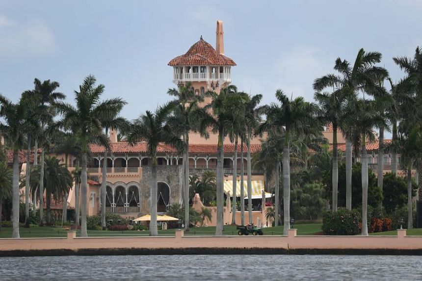 Mark Lindblom managed to get past Secret Service and into luxury club Mar-a-Lago.