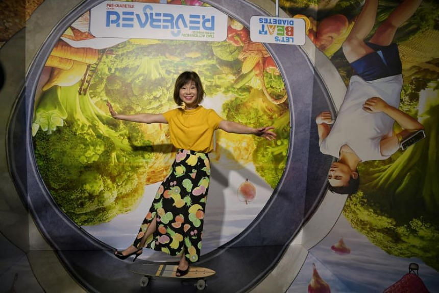 The exhibition was launched by Senior Minister of State for Health Amy Khor at the Raffles Place Park on May 29, 2019.