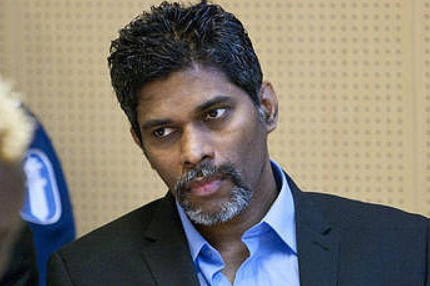 Wilson Raj Perumal absconded and fled overseas using a fake passport in 2010.