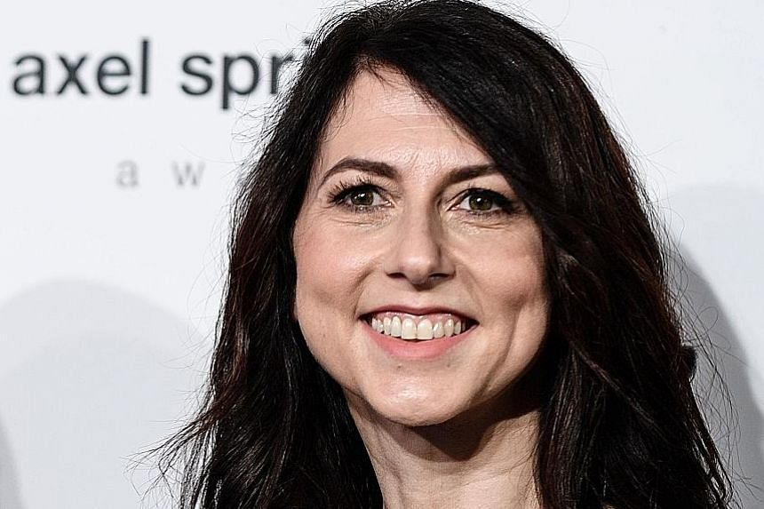 Mrs MacKenzie Bezos has an estimated $49.8 billion net worth after finalising the terms of her divorce with Amazon founder Jeff Bezos, the world's richest man.