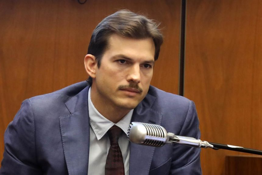Actor Ashton Kutcher testifying at the trial of a man dubbed the Hollywood Ripper who is charged with murder.