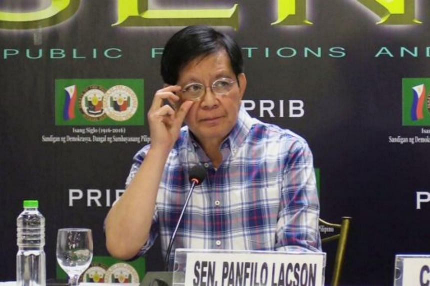 Senator Panfilo Lacson said that Xu Zhijian was in the country to personally monitor the shipment of 276kg of crystal methamphetamine, also known as shabu.