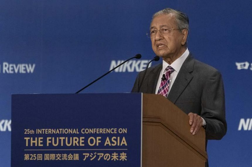 "Malaysian Prime Minister Mahathir Mohamad told the 25th Nikkei Future of Asia conference that negotiation or arbitration, through the court of law, will be the ""civilised"" way of seeking solutions."