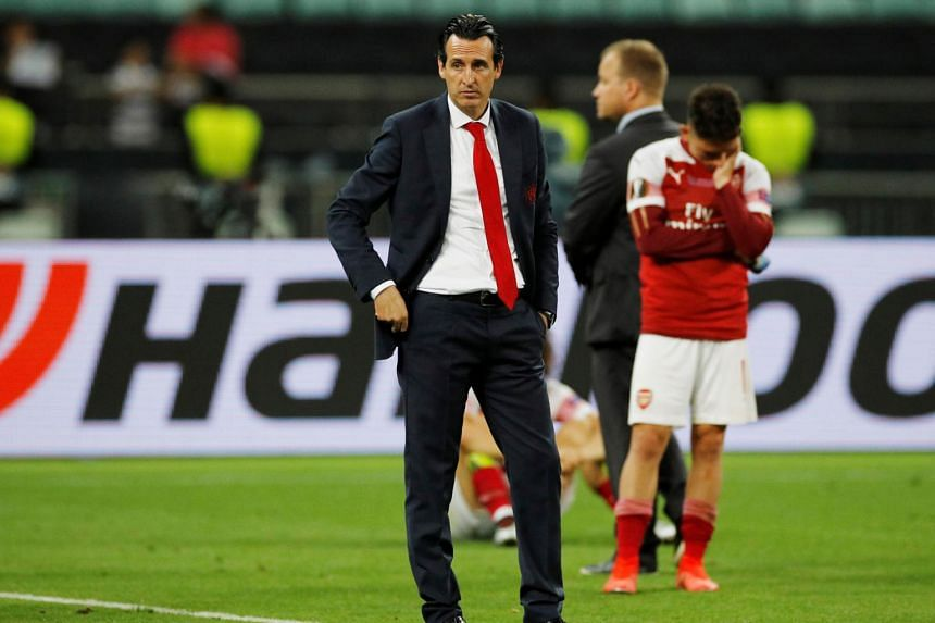 """Unai Emery said his team Arsenal were still very much in a """"process"""" and he would evaluate his options over the summer."""