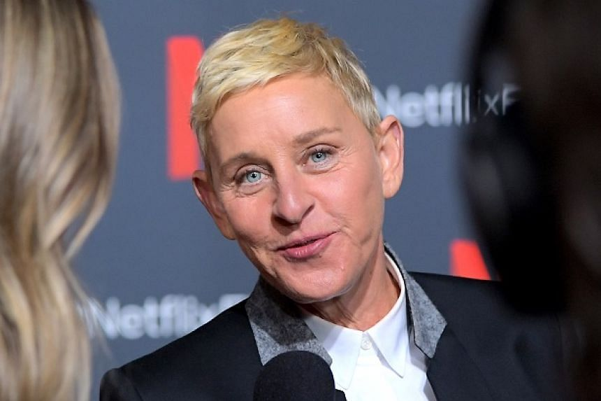 Ellen DeGeneres reveals to host David Letterman on his Netflix show My Next Guest Needs No Introduction that she was abused by her stepfather when she was 15 or 16 years old.