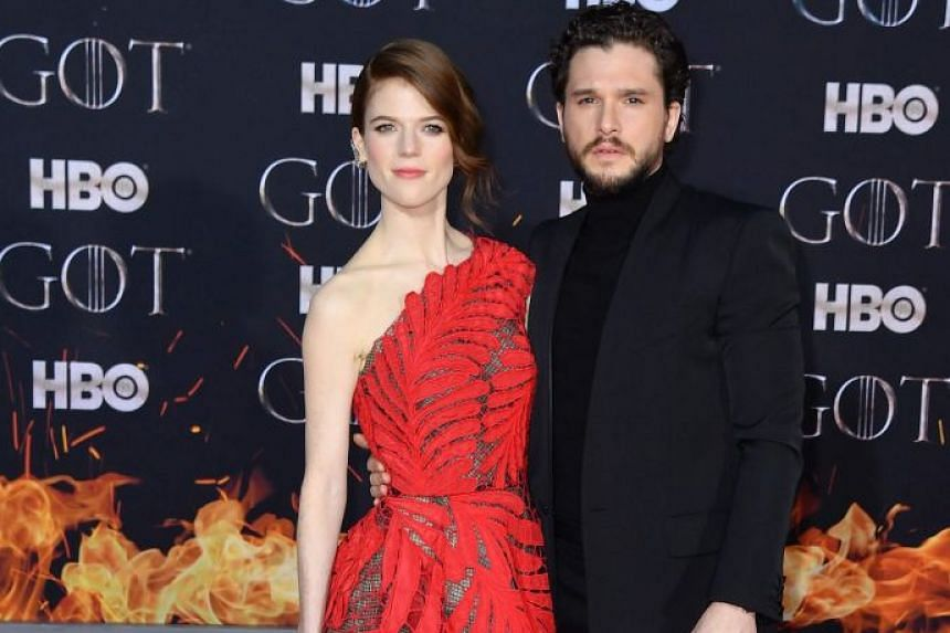 Kit Harington married his Game Of Thrones co-star Rose Leslie last year.