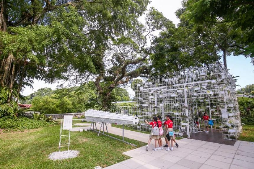 From Singapore to Singaporean: The Bicentennial Experience comprises eight pavilions and installations with interactive elements, where visitors can take in reflections of Singapore's journey from past to present.