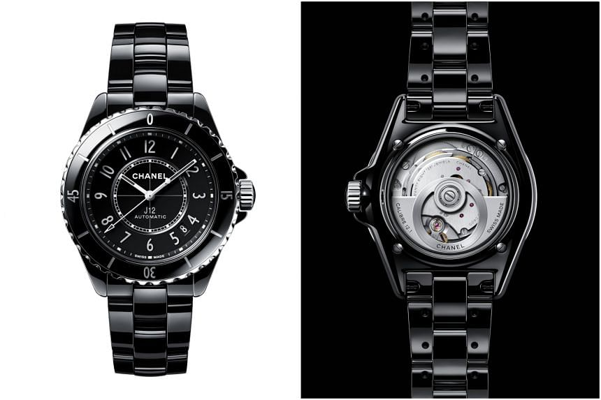 Chanel's new J12 watch shoots for the stars
