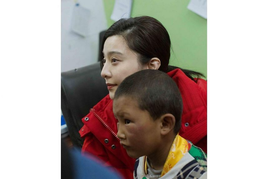 Detractors have dismissed Fan Bingbing's recent trip to Tibet as a ploy to repair her tainted image.