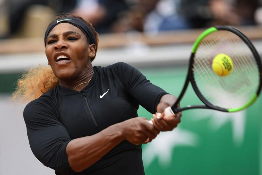 Serena Williams survived a first-set fright in her opening match, but there was no hiccup this time.