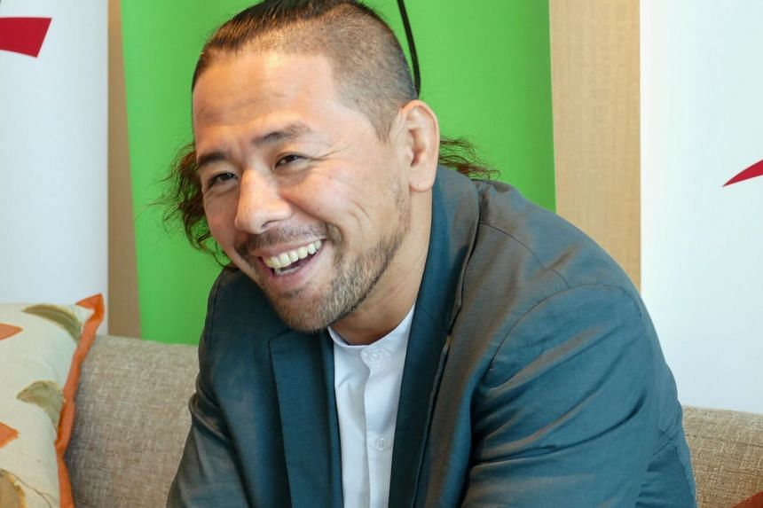 WWE superstar Shinsuke Nakamura was in Singapore last week to promote a live event at the Singapore Indoor Stadium on June 27.