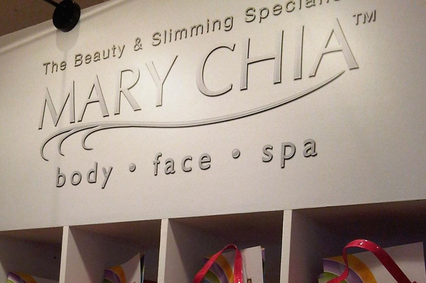Mary Chia Holdings' revenue for the year fell 2.5 per cent to $8.9 million, from $9.1 million a year ago.