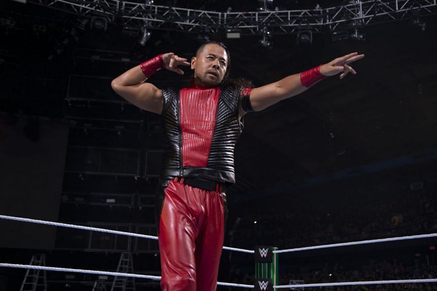 WWE superstar Shinsuke Nakamura (pictured) will face Seth Rollins for the Universal Championship at the Singapore Indoor Stadium.