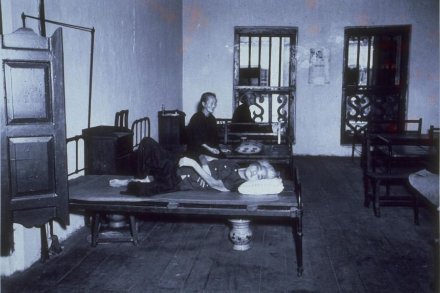 View of the death house at Sago Lane where inmates go for treatment.