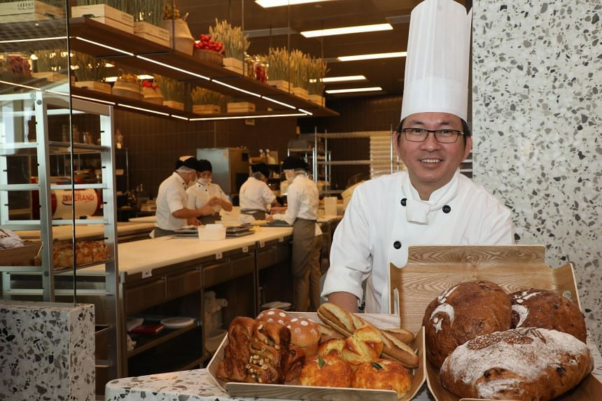 Wu Pao Chun's opening here is a joint venture with the BreadTalk Group, which has an 80 per cent stake in the business.