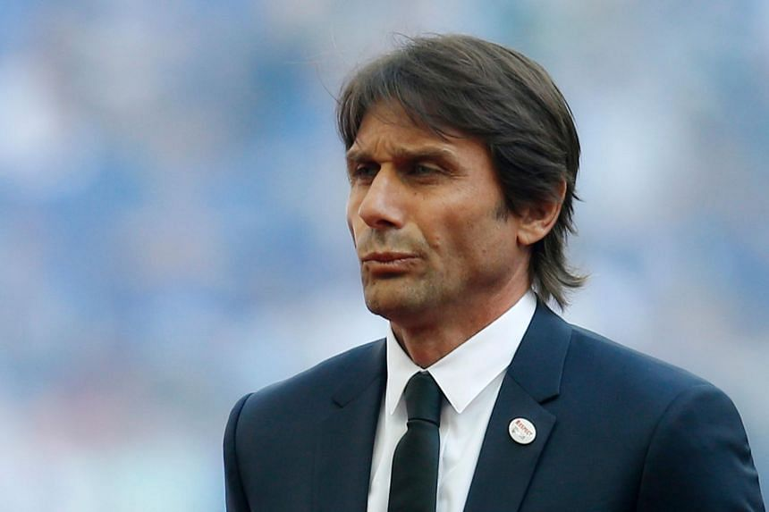 Italian manager Antonio Conte won the first three of Juventus' eight straight Serie A titles and the Premier League and FA Cup as Chelsea boss.
