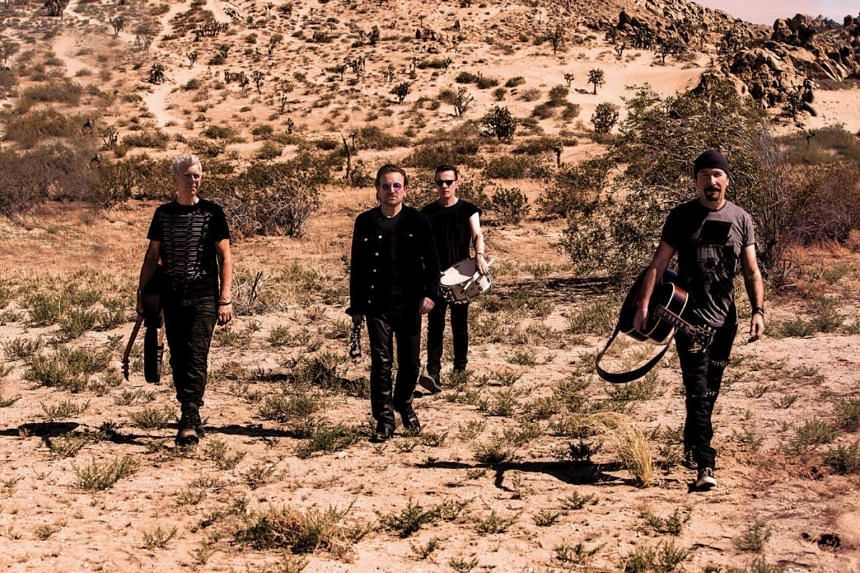 The band - made up of (from left) bassist Adam Clayton, frontman Bono, drummer Larry Mullen Jr, and guitarist the Edge - are no strangers to selling out arenas around the world.