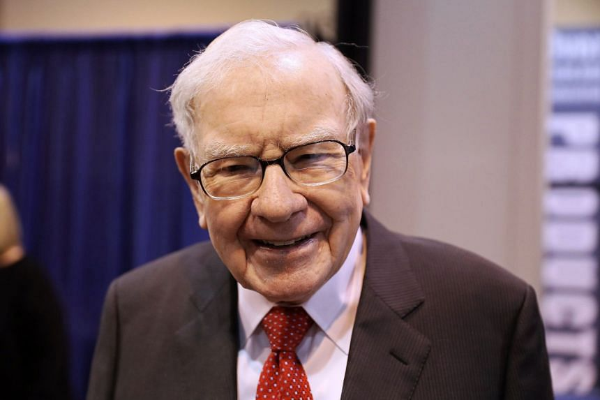 Warren Buffett attends the annual Berkshire Hathaway shareholder meeting in Omaha, Nebraska.