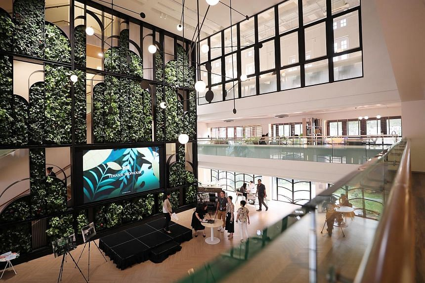 Opening on Monday, the 25,000 sq ft co-working hub was set up by Temasek as a gift for its philanthropic arm, Temasek Trust.