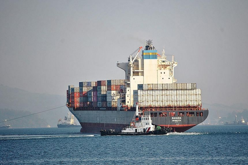 A cargo ship - loaded with some 2,500 tonnes of household waste from Canada that was rotting away in ports in Manila for six years - headed for Vancouver after leaving Subic in the Philippines. Manila yesterday declared an end to the row with Ottawa