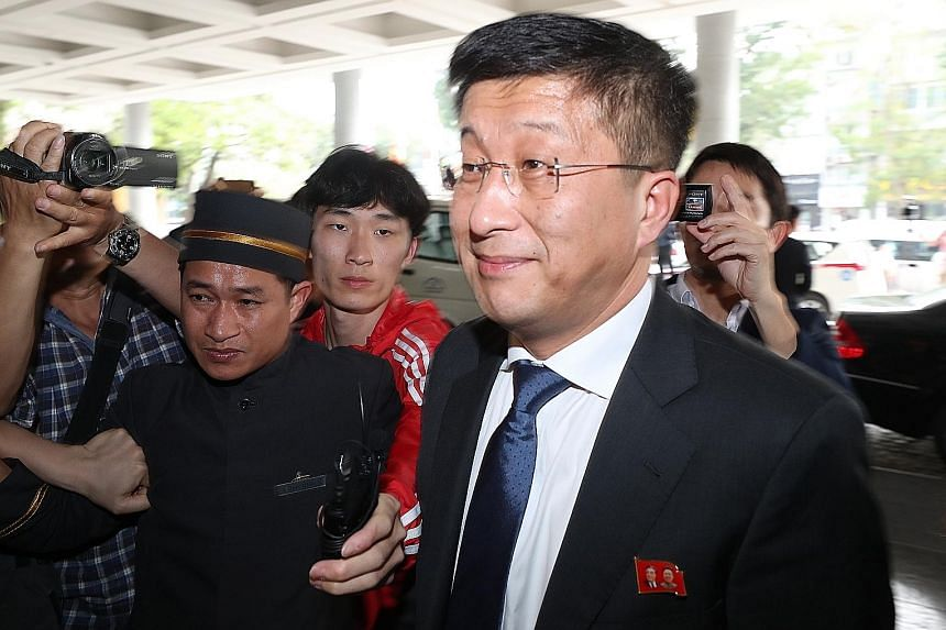 """Mr Kim Hyok Chol was accused of spying for the US and """"betraying the supreme leader""""."""