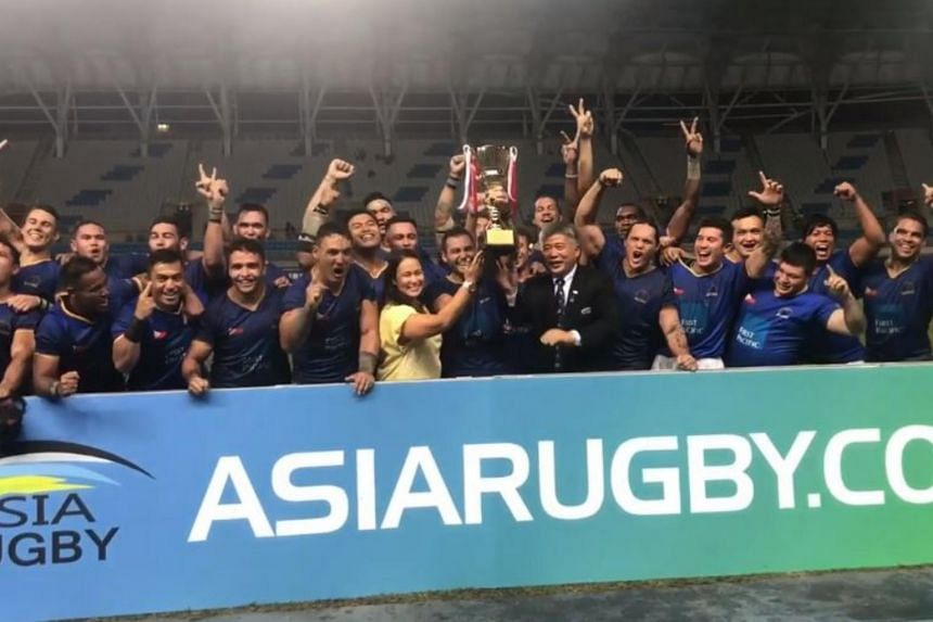 Singapore fall 29-21 to the Philippines in Asia Rugby
