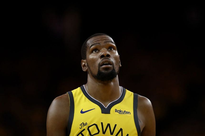 Durant (above) is the leading scorer in the playoffs for the Warriors.