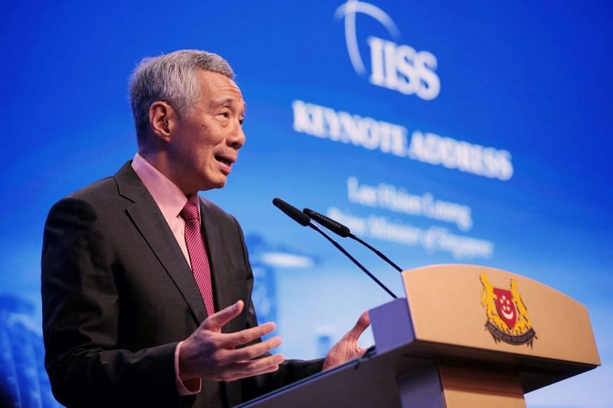 Prime Minister Lee Hsien Loong said during his keynote address at the Shangri-La Dialogue yesterday that the fundamental problem between the United States and China is a mutual lack of strategic trust.