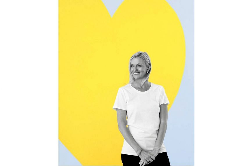 Kikki.K founder Kristina Karlsson's (above) book Your Dream Life Starts Here contains life lessons and experiences as well as exercises to help people find their passions and take control of their lives.