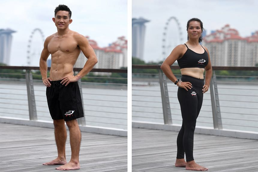Left: Kenneth Lee, 31. Right: Lim Xiaowei, 30