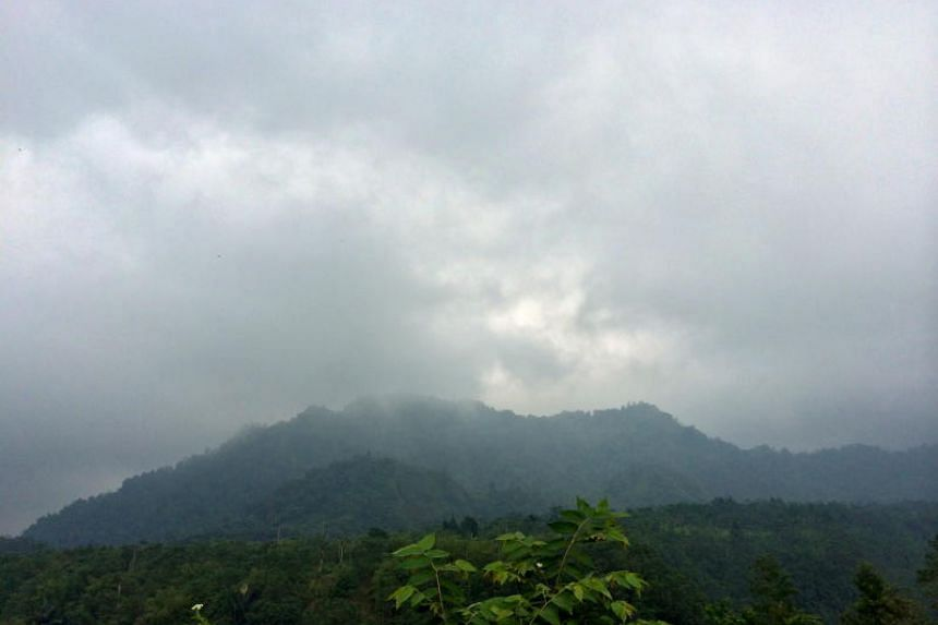 Local media reported Mount Merapi spewed ash columns up to 3,000 metres into the sky over the weekend.
