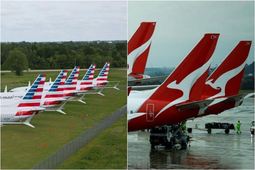 American Airlines and Qantas have put in a bid to operate a joint venture.